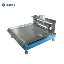 China Made PVC Sheet Guide Hole Punching Machine