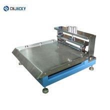 Preço de fábrica PVC, PETG e ABS RFID Guide Hole Punching Machine