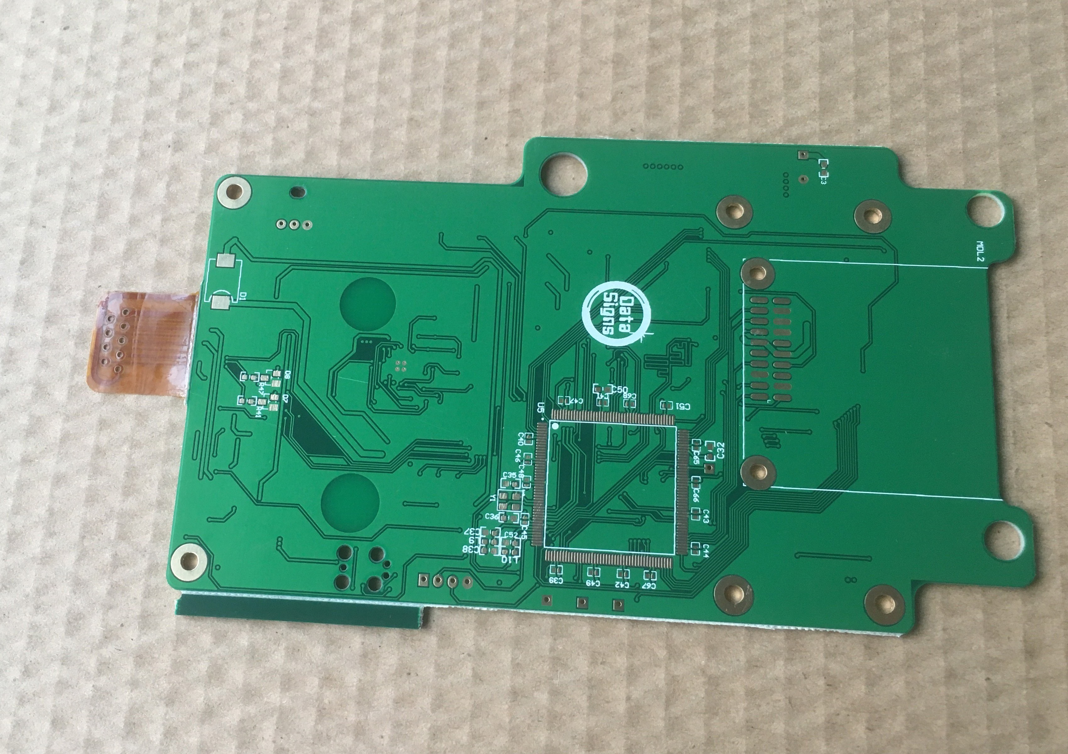 ENEPIG finishing board