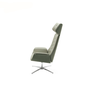 Kriteria High Back Headrest Waiting Lounge Chair