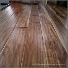 Handscraped Small Leaf Acacia Solid Wooden Flooring