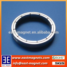 Nickle coated arc Neodymium magnet for sale/pmdc motor NdFeB magnet for sale