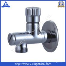 Boa válvula de ângulo de latão polido para água (YD-5034)