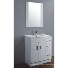 Armário do banheiro do PVC de 75cm (P-067)