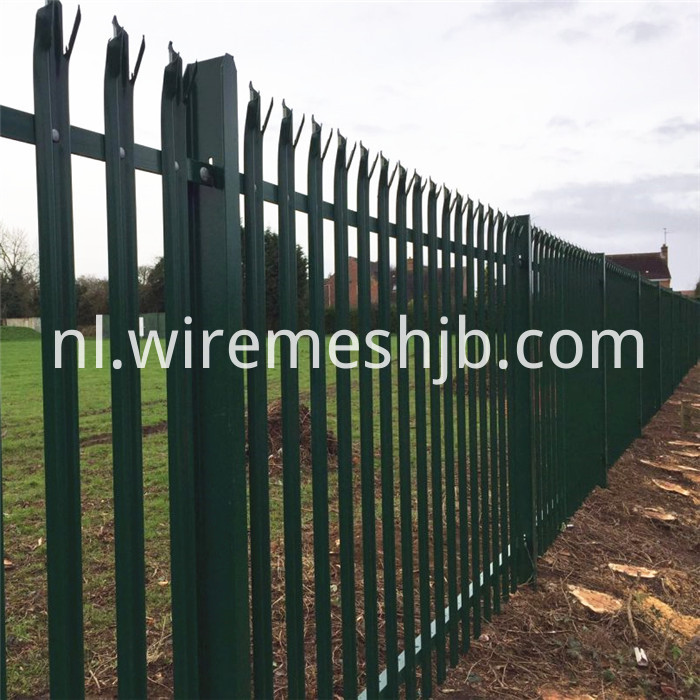 Powder Coated Steel Palisade