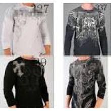 2016 Großhandelslange Hülsen-Mens-Art- und Weiset-shirt (XY23654)