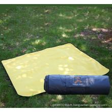 Couverture de pique-nique extérieure 100% polyester 600D Oxford