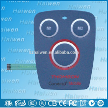 Personalizado fabricante de conmutador de membrana