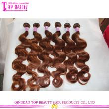 Não processado # 30 onda do corpo do cabelo humano a granel boa qualidade a granel comprar a partir de china