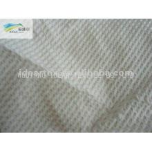 CVC Seersucker 65% algodão 35% poliéster tecido para cortina