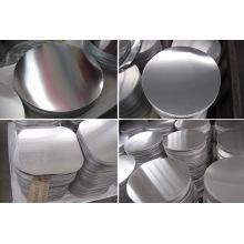 Disco de círculos de aluminio de tamaño libre 3003