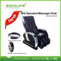 Chaise de massage exploitée par Bill avec massage corporel complet