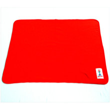 100% Polyester Promo Fleece Blanket with Competitive Price