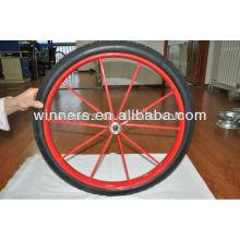 "Heavy-duty cart big wheels agricultural wheel 26""x 2.5"""
