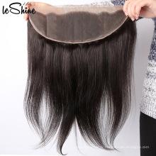 Plein de fermeture de cheveux de base de soie de cuticule