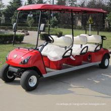 Fornecido de fábrica baixos preços carrinhos de golfe elétricos (DG-C6)