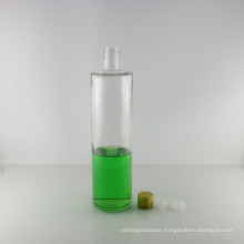 Tall Round Clear 1000ml Cooking Olive Oil Glass Bottle