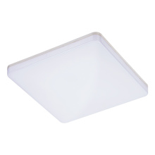 Plafonnier carré imperméable en option de 24W LED moderne
