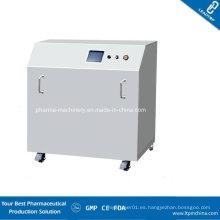 Máquina automática de limpieza de tolva móvil farmacéutica