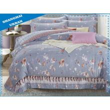 4 Stück Bettbezug Set Set Bettwäsche Set
