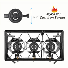 CSA certificate three burner stove