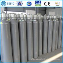 Cilindro de gas de acero sin costura de alta presión 50L (ISO232-50-15)
