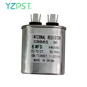 Venda Capacitor de partida do motor 6uF 450V