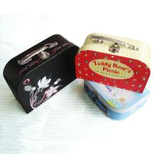 Caixa de presente de Natal com logotipo do comprador impresso