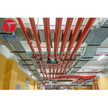 UL Certification ASTM A795 Black and Hot Dipped Zinc-Coated(Galvanized)Welded fire protection pipes