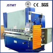 Marco de puerta Hoja de metal Prensa CNC hidráulica Máquina de doblado de freno