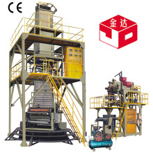 POF 3-Layer Co-Extrusion Poliolefina Hot Shrink Film Extruder