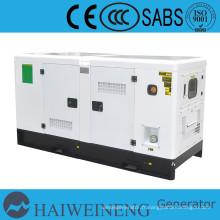 QuanChai puissance de générateur diesel silencieux de 8Kva à 40Kva