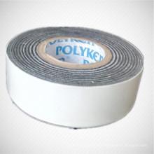 Cinta de protección mecánica aplicada en frío y sistema de recubrimiento de cinta de protección de tubería de acero de envoltura exterior para tubería