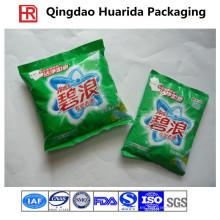 Bolsa de polvo de plástico de sellado posterior personalizada