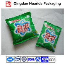 Custom Back Seal Plastic Washing Powder Pouch