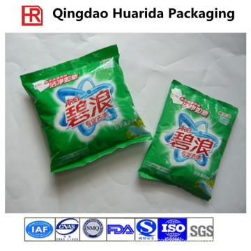 Custom Back Seal Plastic Washing Powder Pouch