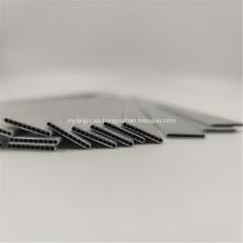 Auto piezas de repuesto de extrusión de aluminio de tubo de microcanal