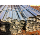 hot dipped galvanised oval steel pipe