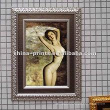 Горячие Sexy Nude Girls Искусство Картина Холст