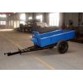 1 тонн одноосный трактор фермы прицеп
