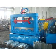 Máquina formadora de rollos de metal de construcción
