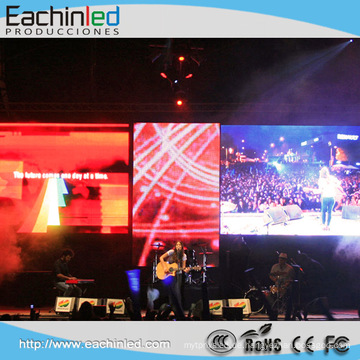 P8.9 Farbenreiche Innenmiete führte Anzeigen-Vorhang für Stadiums-Hintergrund
