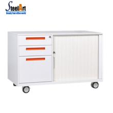 Modern office 3 drtawer steel mobile cabinet