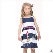 2014 Children New Summer Dresses of The Girls Pure Cotton Princess Dress
