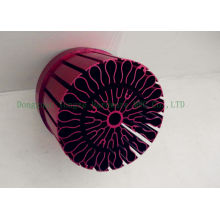 Waterproof Round Anodized Heat Sink Led Cold Forged , Aluminum Heat Sinks
