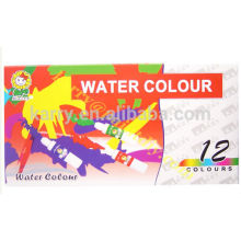 12-color 6ML Water Color(liquid, box packaging)