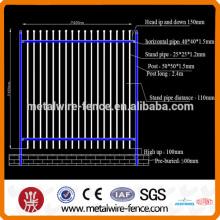 Aço galvanizado paliçada vedação (alta qualidade)