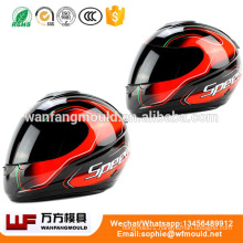 different size injection Motorcycle helmet mold/OEM Custom Design OEM injection Motorcycle helmet moldings