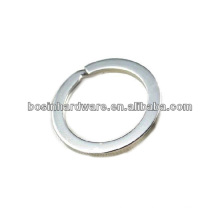 Custom Good Quality Metal Best Price Flat Split Ring