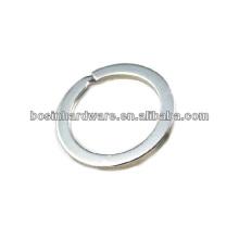 Пользовательские хорошее качество металла Лучшая цена Flat Split Ring